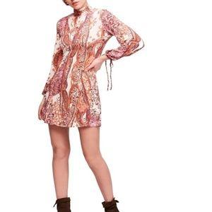 Free People Minidress All Dolled Up Boho Medium